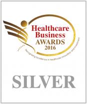 "Silver Award for www.grafimedia.eu at the ""Healthcare Business Awards 2016"" by Boussias Communications. Category ""e-Health"""
