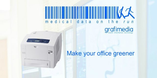 Grafimedia Health Information Technology. Make your office greener.