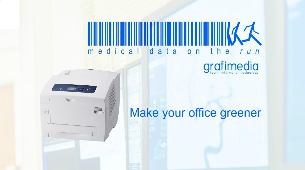 Grafimedia Health Information Technology. Make your office greener.