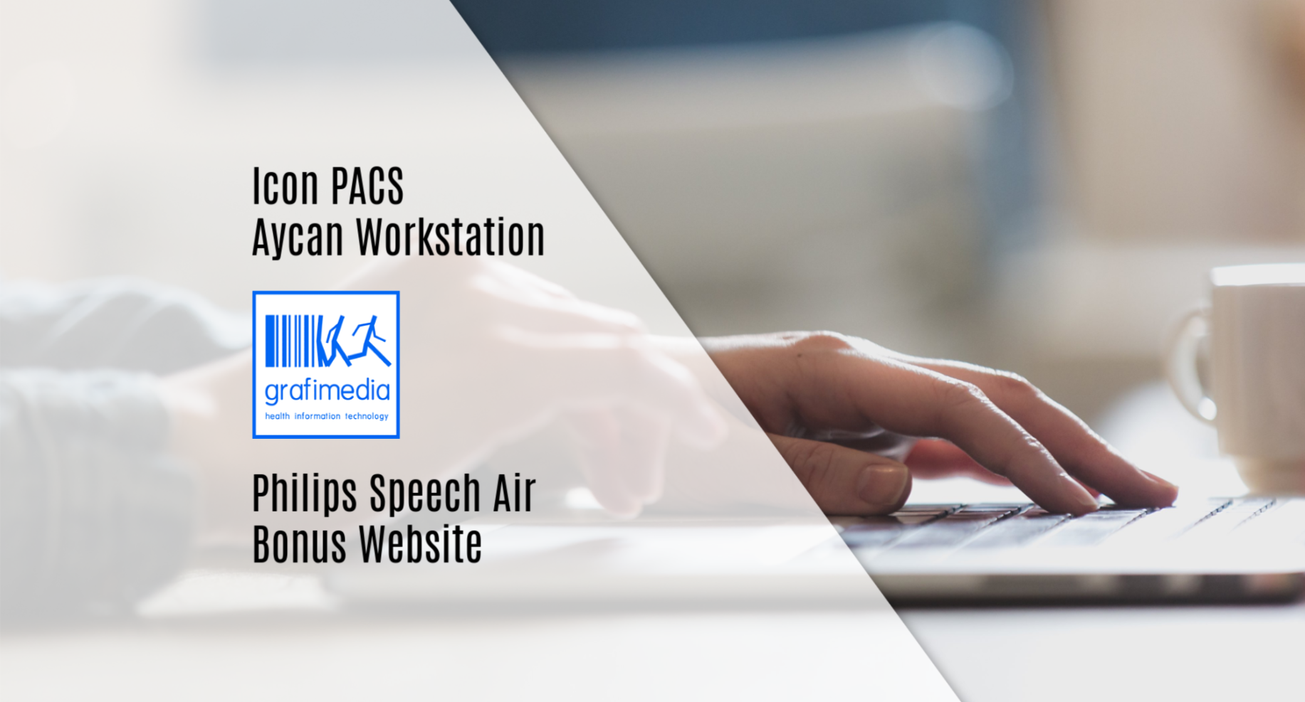 Αγοράστε τώρα σε προνομιακή τιμή το Icon PACS μαζί με το Aycan Workstation Osirix