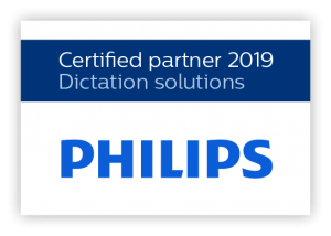 Philips Dictation Certificate 2019