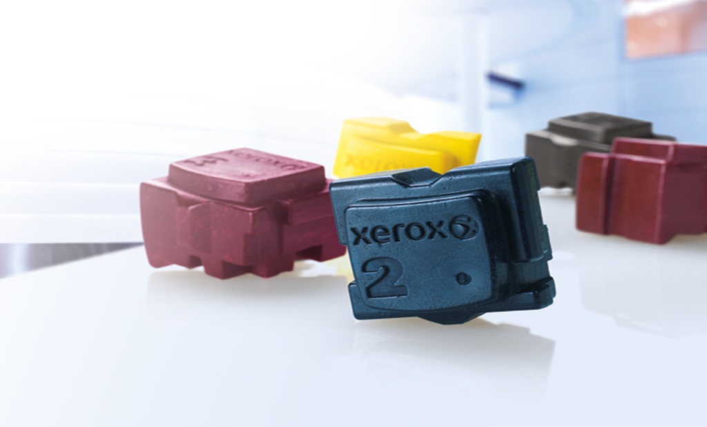 Solo Xerox® può mantenere la promessa di colore accessibile per ogni documento, ogni giorno. Questo è possibile grazie alla tecnologia brevettata a inchiostro solido Xerox®.