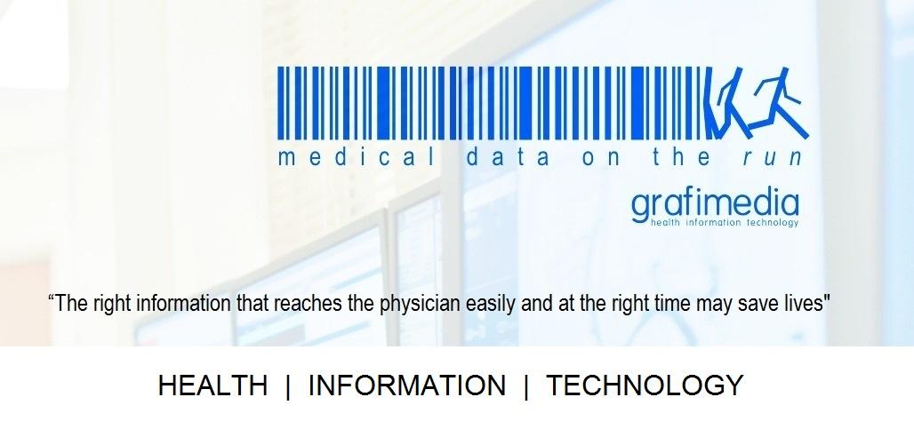 La società Grafimedia. Le informazioni giuste che raggiungono il medico rapidamente e al momento giusto possono salvare la vita.