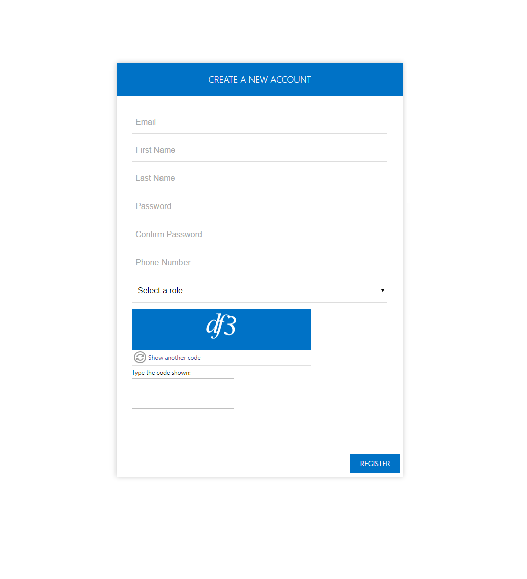 HealthMail. Step 1. Create a new account.