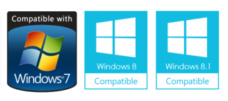 Compatible with Windows 7, 8 and 8.1