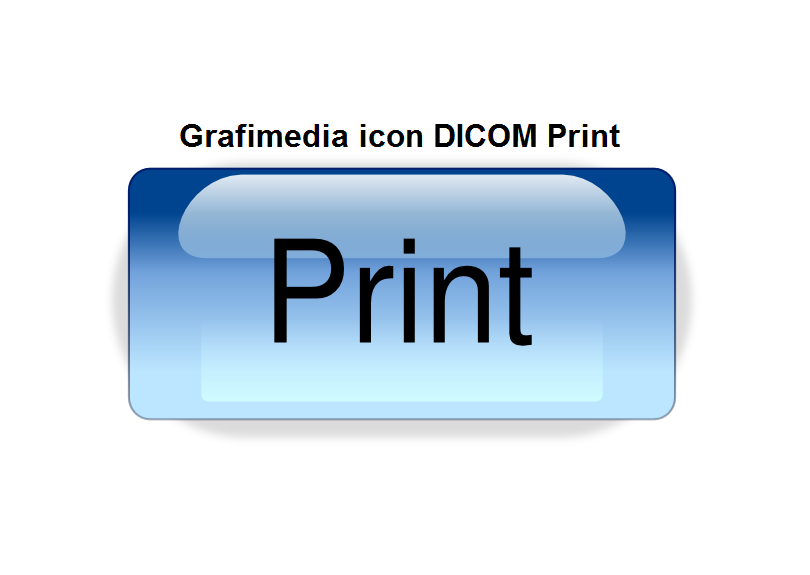 Grafimedia icon DICOM Print