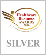 "Silver Award for www.grafimedia.eu at the ""Healthcare Business Awards 2016"" by Boussias Communications. Category ""e-Health"""