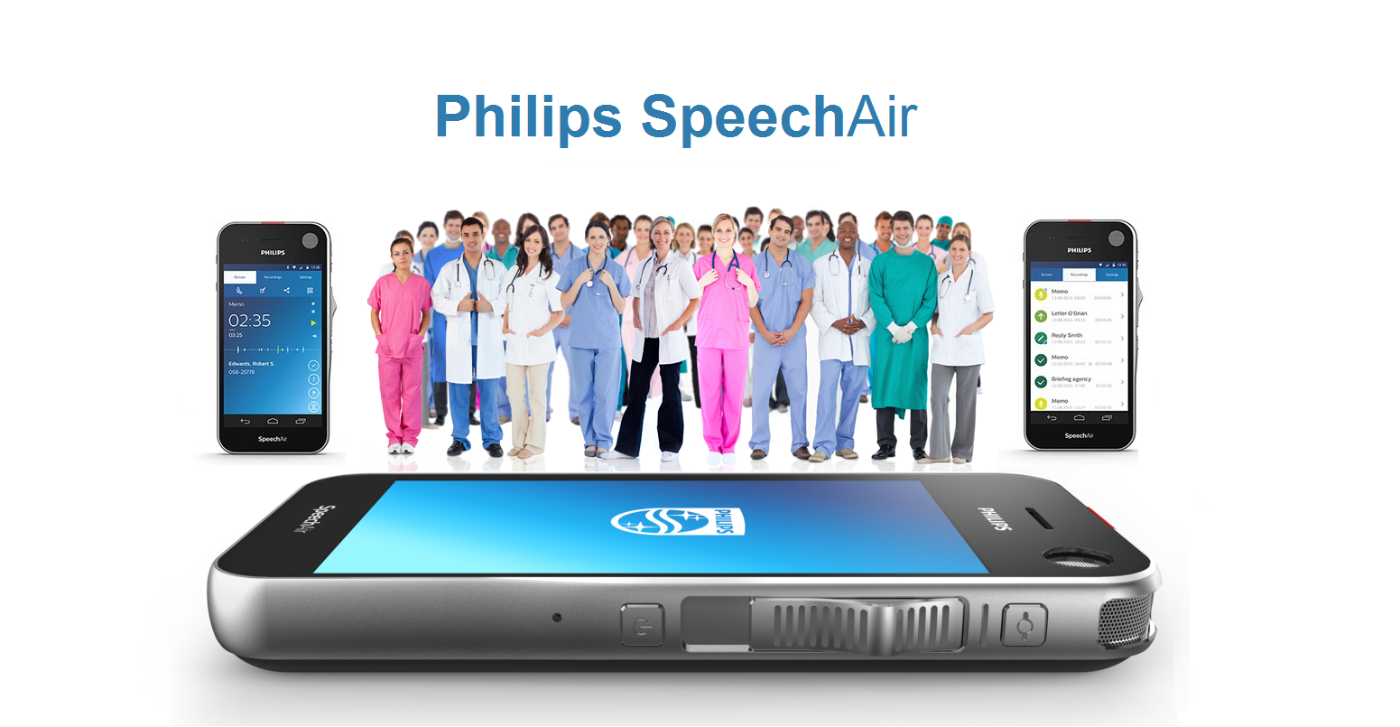 The Philips Speech Air is the perfect digital assistant that every professional needs when smooth daily workflow is a major priority.