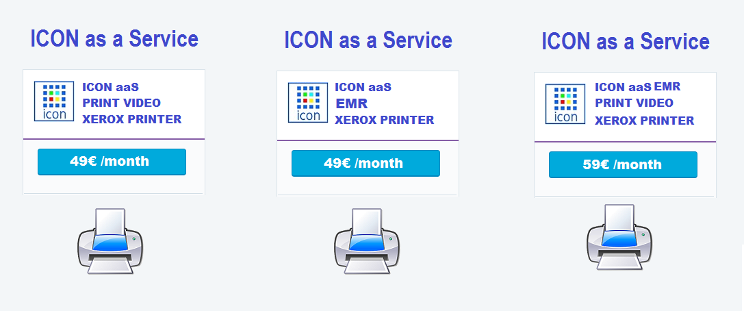 ICON aaS Subscriptions by Month