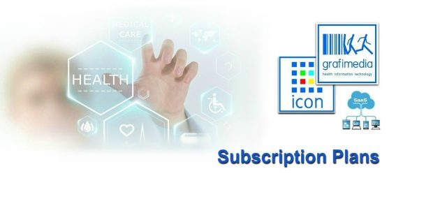 grafimedia ehealth information technology SaaS ICON subscription plans 2017