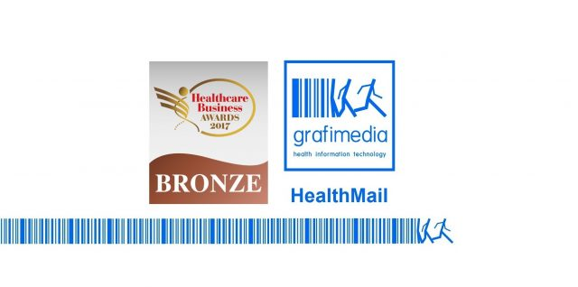 Grafimedia receivedBronze Award for HealthMail App at the eHealth category nominations by the Healthcare Business Awards 2017
