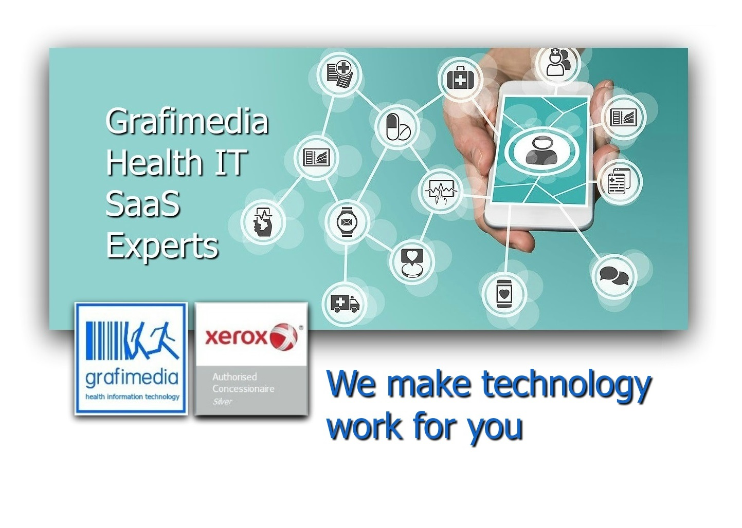 Grafimedia Digital Health SaaS Experts Make Technology Work For You